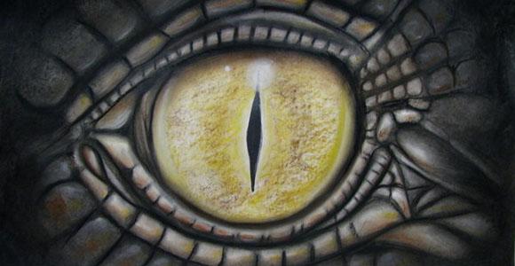 iguana eye painting - photo #42