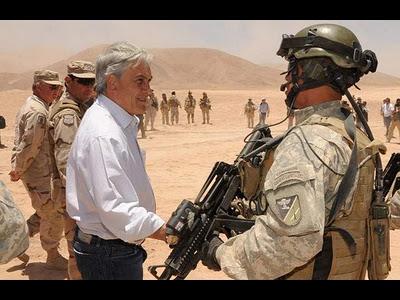 piñera atacama soldado chile ffaa