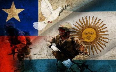 Resultado de imagen para Argentina y Chile + cruz del sur + militar conjunta
