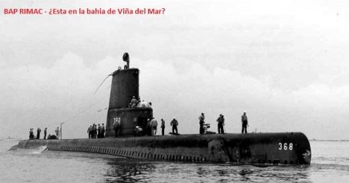 ¿Chile hundió un submarino peruano en Valparaíso?