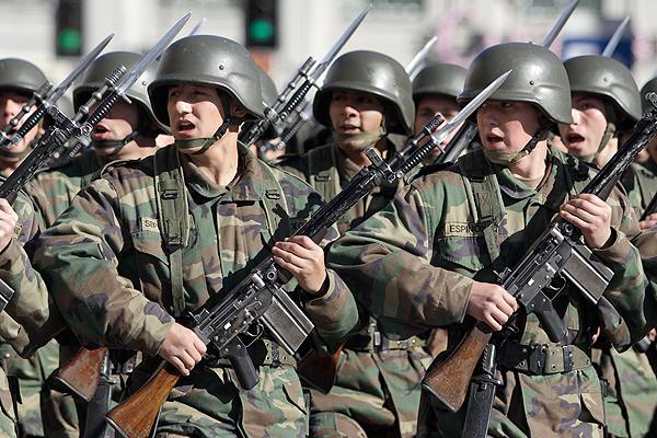 Resultado de imagen para fuerzas armadas chile