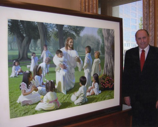 Come-Unto-Me_Children-with-Pres-Monson1