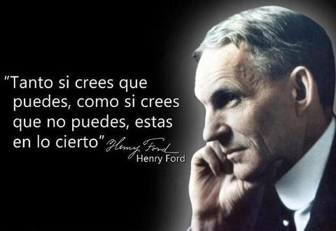 crees que puedes henry ford