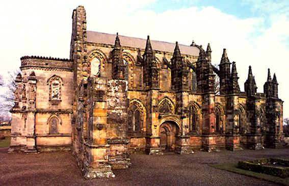 La extraordinaria capilla de Rosslyn