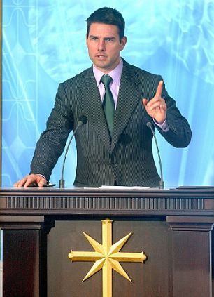 18 Sep 2004, Madrid, Spain --- Actor Tom Cruise gives a speech at the opening of the new Spanish headquarters of the Church of Scientology. Cruise is an adherent of the controversial organization.   --- Image by © J.J. Guillén/epa/Corbis